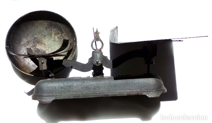 BALANZA 10KG.- 60 LARGO X 23 ALTO CM (Antigüedades - Técnicas - Medidas de Peso - Balanzas Antiguas)
