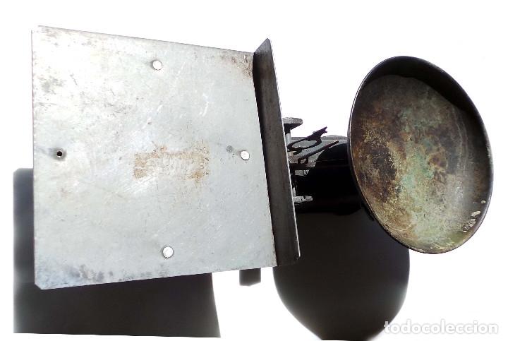 Antigüedades: BALANZA 10KG.- 60 LARGO X 23 ALTO CM - Foto 3 - 175994357