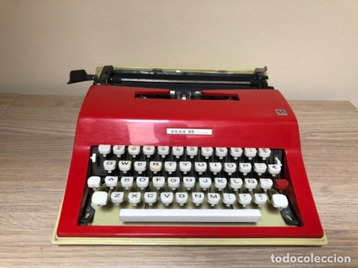 MÁQUINA DE ESCRIBIR ELSA 55 DE LUXE (Antigüedades - Técnicas - Máquinas de Escribir Antiguas - Otras)