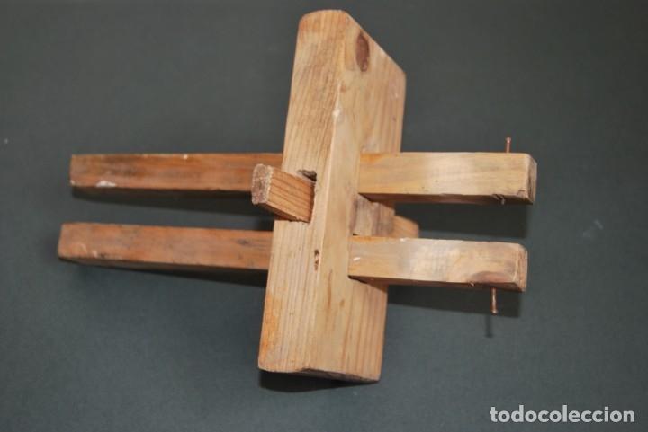 GRAMIL DOBLE DE CARPINTERO - MADERA - MEDIADOS S.XX (Antigüedades - Técnicas - Herramientas Profesionales - Carpintería )