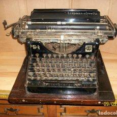 Antigüedades: ANTIGUA MAQUINA DE ESCRIBIR-HISPANO-OLIVETTI-M40-AÑO 1920-FUNCIONA. Lote 176027209