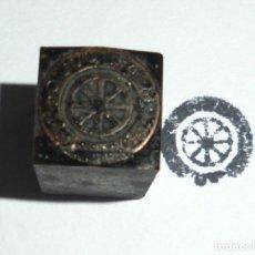 Antigüedades: SELLO DE IMPRENTA. IMAGEN DE 18 DE JULIO. Lote 176064439