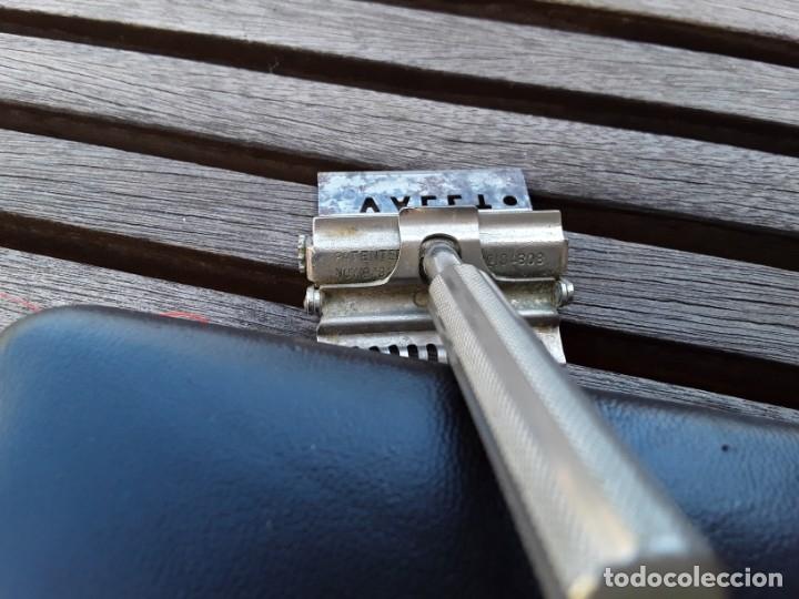 Antigüedades: Juego de 2 maquinillas antiguas en estuche. Gillete años 30 y Valet años 20. - Foto 4 - 176096745