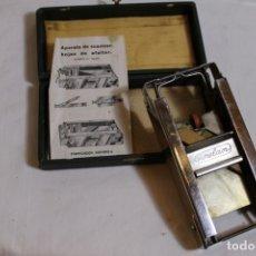 Antigüedades: SUAVIZADOR Y AFILADOR DE HOJAS DE AFIETAR GURELAM. Lote 176108969