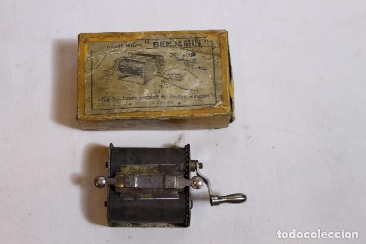 Antigüedades: SUAVIZADOR BENJAMIN PARA HOJILLAS - Foto 2 - 176125035