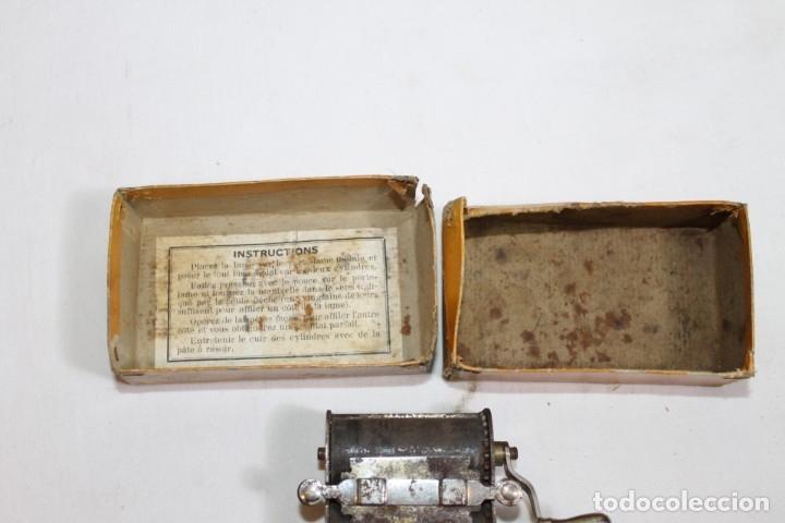 Antigüedades: SUAVIZADOR BENJAMIN PARA HOJILLAS - Foto 3 - 176125035