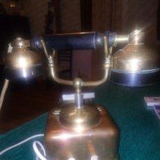 Teléfonos: TELÉFONO DE COBRE ANTIGUO. AÑOS 20/30. Lote 176145445