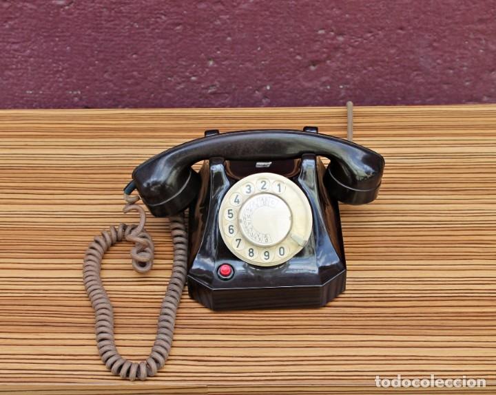TELÉFONO INGLÉS 1930 (Antigüedades - Técnicas - Teléfonos Antiguos)