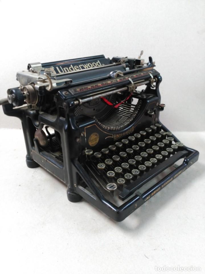 MAQUINA DE ESCRIBIR UNDERWOOD NUMERO 5 (Antigüedades - Técnicas - Máquinas de Escribir Antiguas - Underwood)