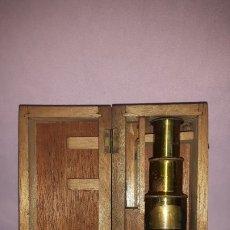 Antigüedades: MICROSCOPIO TAMBOR. Lote 176209757