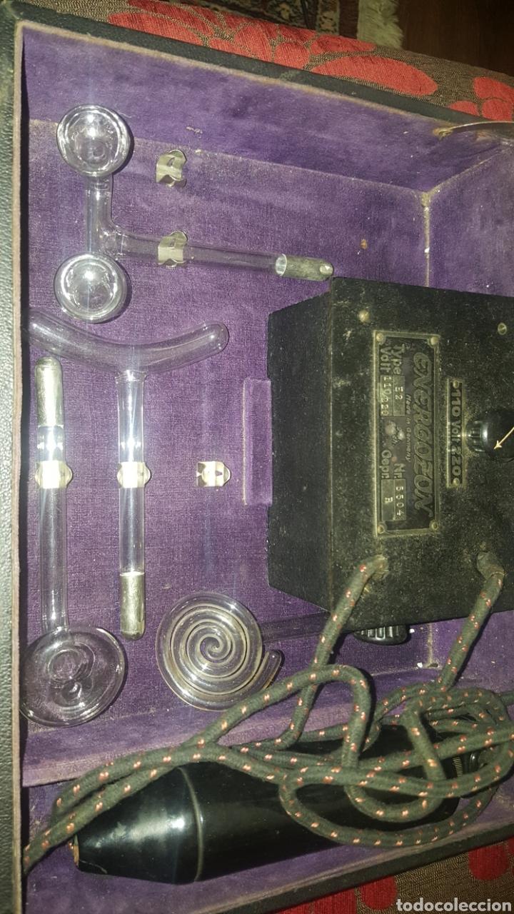 Antigüedades: MALETIN ENERGOZON - APARATO CON DIODOS PARA TRATAMIENTO DE LA PIEL - Foto 12 - 153150070