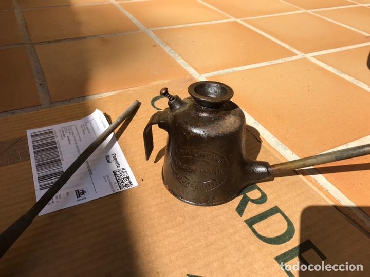 Antigüedades: Piezas antiguas engrase . - Foto 3 - 176251465