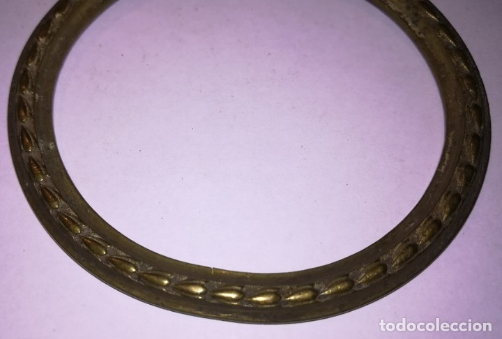 Antigüedades: Aldaba bronce antigua (o tirador de aparador) - lágrima - Foto 2 - 176261779