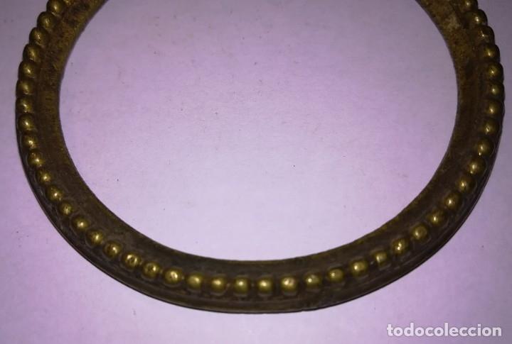 Antigüedades: Aldaba bronce antigua (o tirador de aparador) - perla - Foto 2 - 176262043
