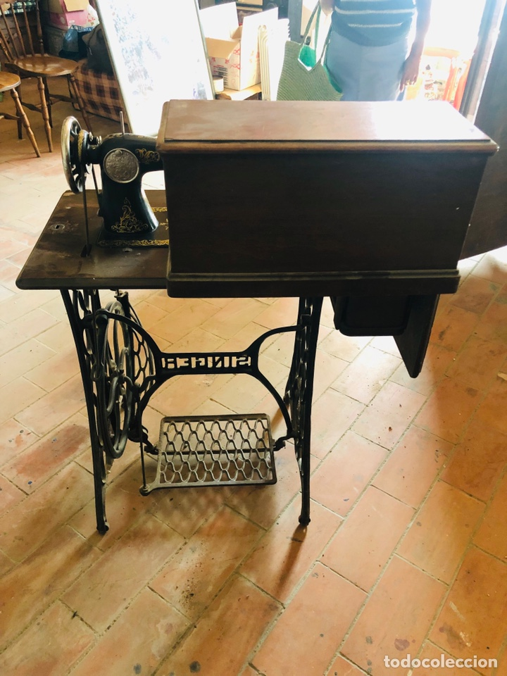 Antigüedades: Singer máquina coser - Foto 4 - 176273277