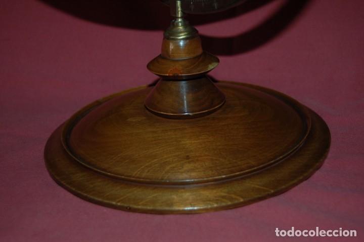 Antigüedades: GLOBO TERRÁQUEO POLÍTICO ALEMÁN ( BOLA DEL MUNDO ) SCHOTTE, 33 CM, AÑO 1906 - Foto 3 - 176276017