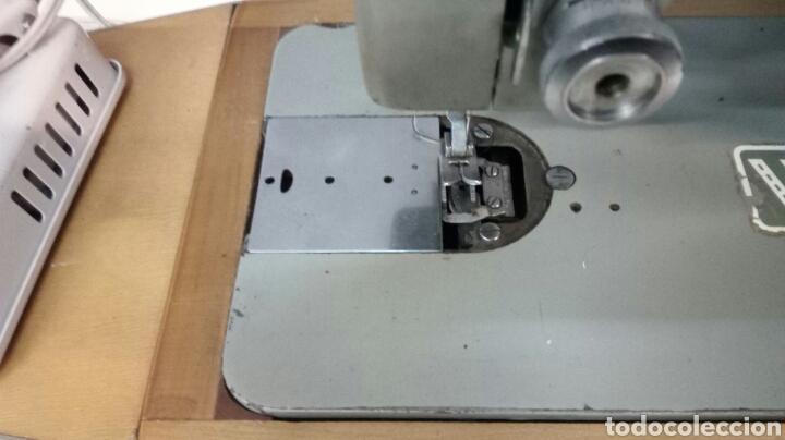 Antigüedades: Maquina de Coser Whertheim con Motor - Foto 4 - 176278907