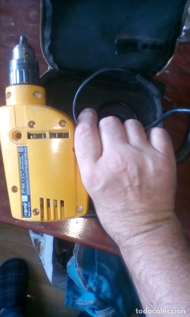 Antigüedades: Taladro-taladradora-máquina de taladrar - Foto 5 - 176307267