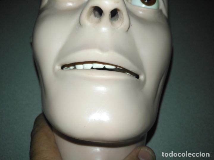 Antigüedades: acepto ofertas - cuerpo anatomia humano cabeza practicas medicina tamaño natual ojos de cristal - Foto 4 - 176369795