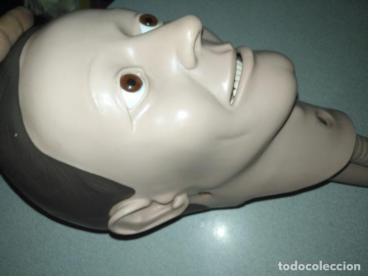 Antigüedades: acepto ofertas - cuerpo anatomia humano cabeza practicas medicina tamaño natual ojos de cristal - Foto 9 - 176369795