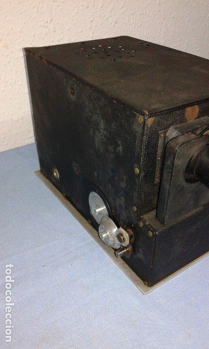Antigüedades: VISOR ESTEROSCOPICO DE 1950 ELECTRICO - Foto 2 - 176437188