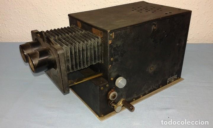 Antigüedades: VISOR ESTEROSCOPICO DE 1950 ELECTRICO - Foto 13 - 176437188