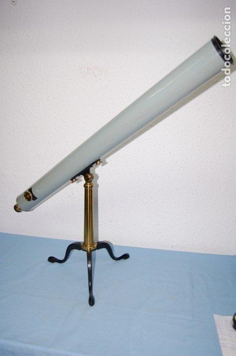 CATALEJO DE 102 CM CIRCA 1900 EN SU CAJA ORIGINAL (Antigüedades - Técnicas - Instrumentos Ópticos - Catalejos Antiguos)