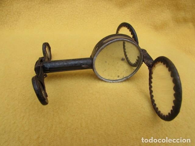 Antigüedades: BRÚJULA CON BINOCULARES Y ESPEJO DE SEÑALES - Alemania - WWI - Foto 8 - 176460689