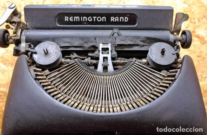 Antigüedades: Máquina de escribir Remington Rand Deluxe Model 5 - Foto 3 - 176539192