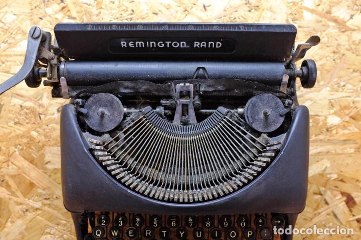 Antigüedades: Máquina de escribir Remington Rand Deluxe Model 5 - Foto 6 - 176539192