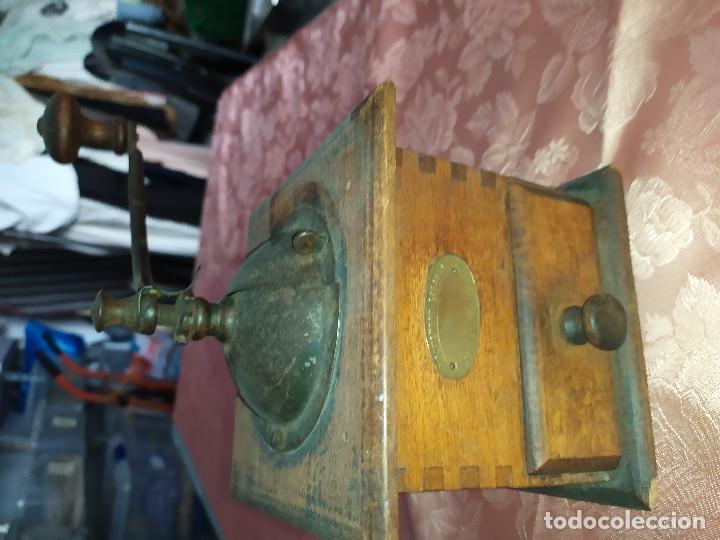 MOLINILLO ANTIGUO (Antigüedades - Técnicas - Molinillos de Café Antiguos)