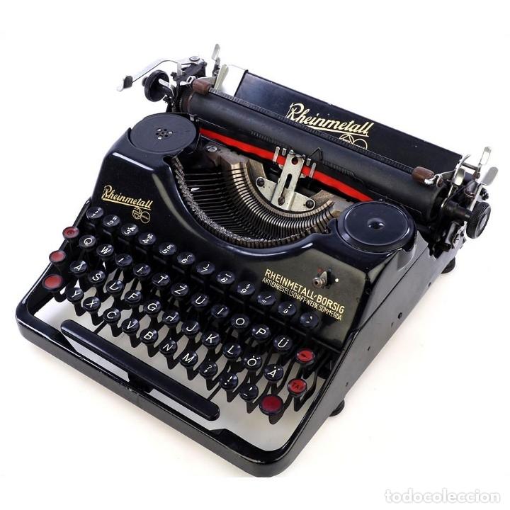 ANTIGUA MÁQUINA DE ESCRIBIR RHEINMETALL. ALEMANIA, 1931 (Antigüedades - Técnicas - Máquinas de Escribir Antiguas - Otras)