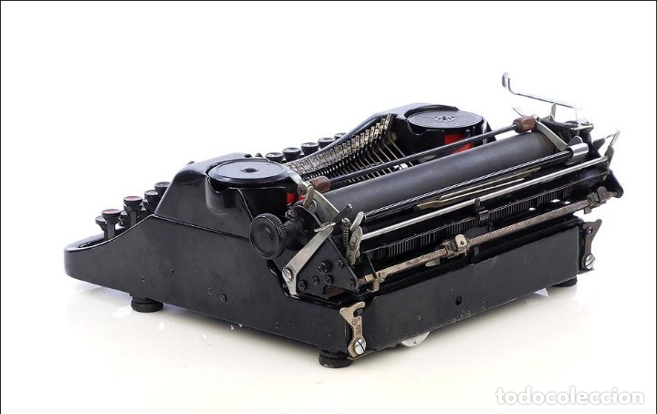 Antigüedades: Antigua Máquina de Escribir Rheinmetall. Alemania, 1931 - Foto 3 - 176570203