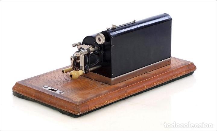 Antigüedades: Antigua Calculadora Thales Modelo CE 2ª Versión. Alemania, 1925 - Foto 3 - 176570694