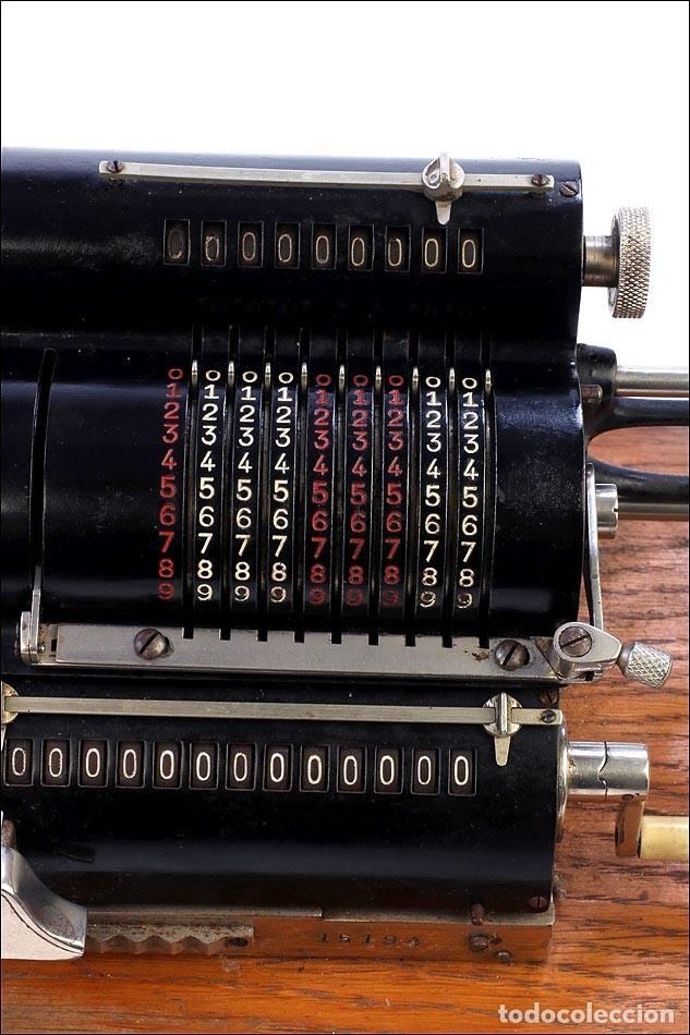 Antigüedades: Antigua Calculadora Thales Modelo CE 2ª Versión. Alemania, 1925 - Foto 8 - 176570694