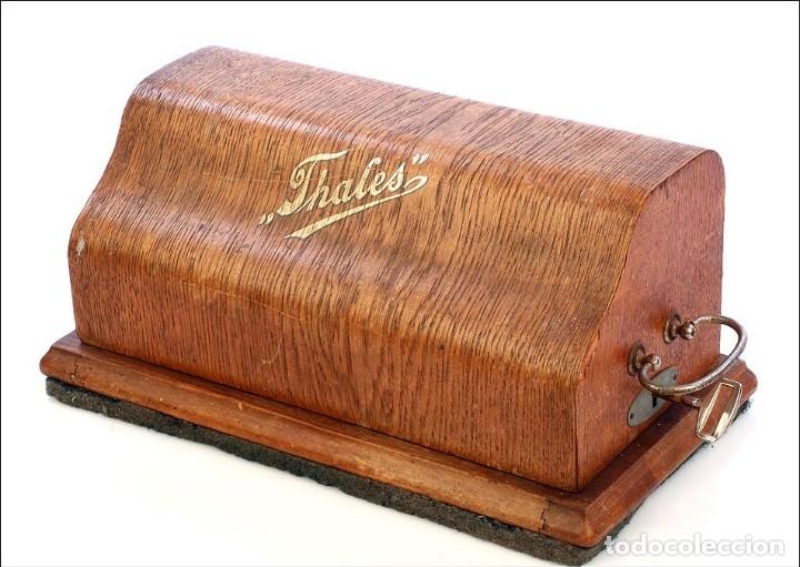 Antigüedades: Antigua Calculadora Thales Modelo CE 2ª Versión. Alemania, 1925 - Foto 15 - 176570694