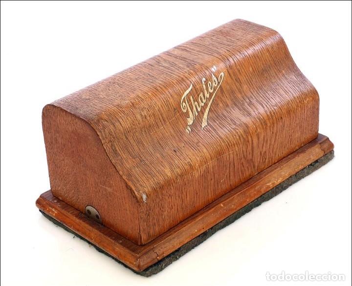Antigüedades: Antigua Calculadora Thales Modelo CE 2ª Versión. Alemania, 1925 - Foto 16 - 176570694