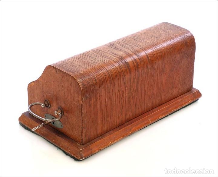 Antigüedades: Antigua Calculadora Thales Modelo CE 2ª Versión. Alemania, 1925 - Foto 17 - 176570694