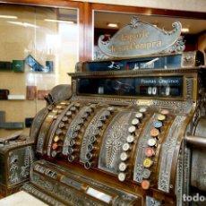 Antigüedades: CAJA REGISTRADORA NATIONAL. ORIGINAL Y FUNCIONANDO. Lote 176571487