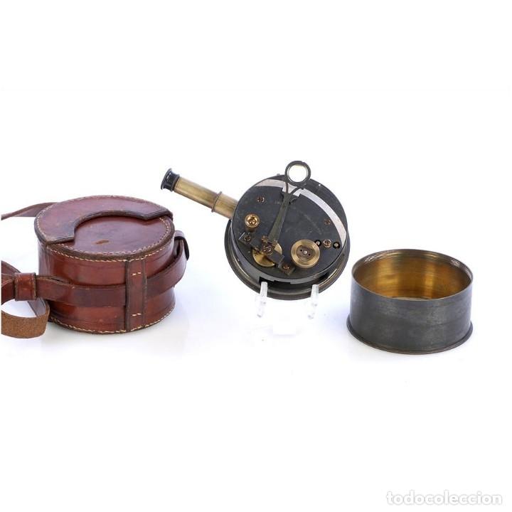 ANTIGUO SEXTANTE DE BOLSILLO THORNTON. MANCHESTER, INGLATERRA, CIRCA 1920 (Antigüedades - Técnicas - Otros Instrumentos Ópticos Antiguos)