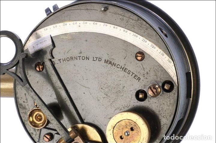 Antigüedades: Antiguo Sextante de Bolsillo Thornton. Manchester, Inglaterra, Circa 1920 - Foto 10 - 176573233