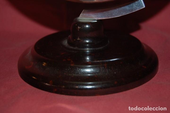 Antigüedades: GLOBO TERRÁQUEO POLÍTICO ALEMÁN ( BOLA DEL MUNDO) RÄTHS, 20 CM, AÑO 1960 - Foto 3 - 176577379