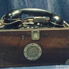 Telefoni: ANTIGUO TELÉFONO DE CAMPAÑA DE LA GUERRA CIVIL ESPAÑOLA.. Lote 176577940