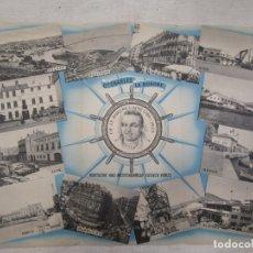Antigüedades: LINEAS NAVEGACION - CIE CHARLES LE BORGNE TRIPTICO PUBLICIDAD - FRANCIA NORTE AFRICA + INFO Y FOTOS.. Lote 176584505
