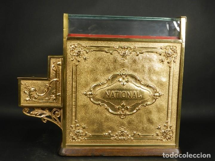 Antigüedades: CAJA REGISTRADORA NATIONAL 345-G AÑO 1895 - Foto 12 - 176667750