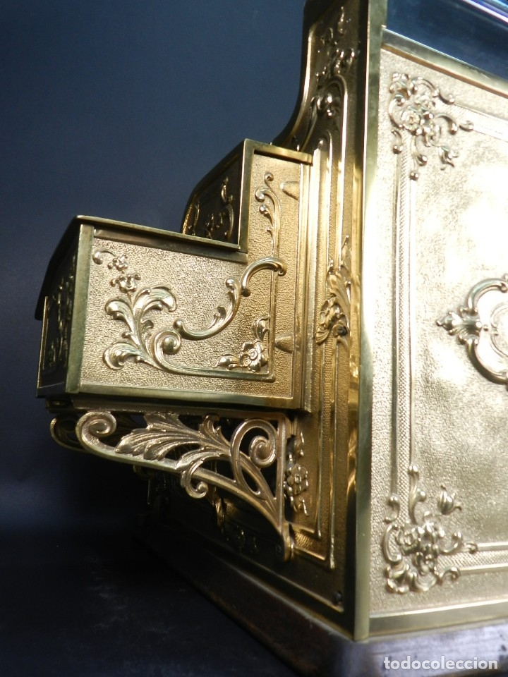 Antigüedades: CAJA REGISTRADORA NATIONAL 345-G AÑO 1895 - Foto 13 - 176667750