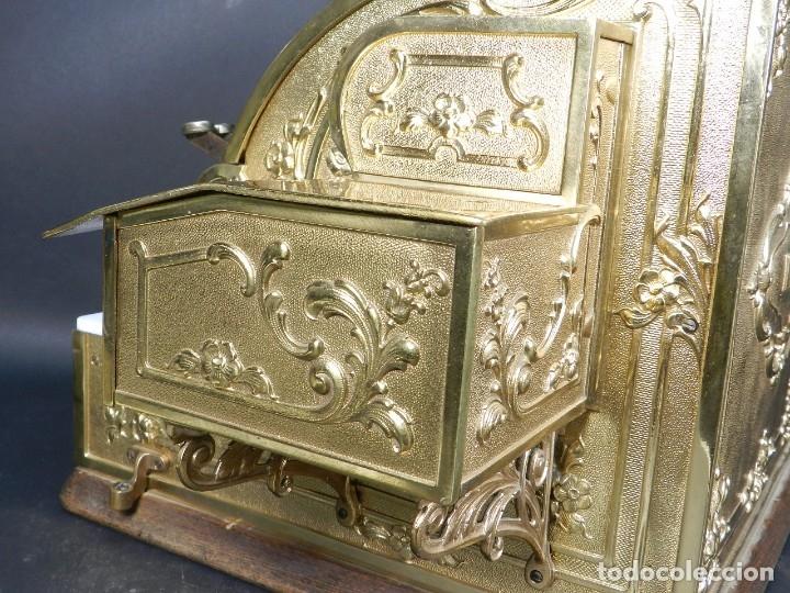 Antigüedades: CAJA REGISTRADORA NATIONAL 345-G AÑO 1895 - Foto 17 - 176667750