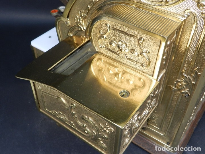 Antigüedades: CAJA REGISTRADORA NATIONAL 345-G AÑO 1895 - Foto 18 - 176667750