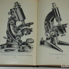 "Antigüedades: MICROSCOPIOS. LIBRO VINTAGE ""THE MICROSCOPE, A SIMPLE HANDBOOK"" 1938. Lote 176692532"