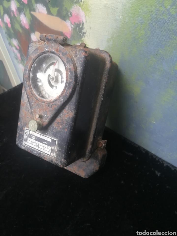 Antigüedades: Antiguo contador de luz - Foto 2 - 176787058